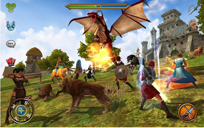 Screenshot 3D MMO Celtic Heroes For Android