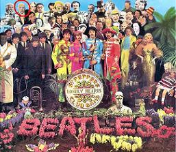 portada del Sgt. Peeppers de los Beatles