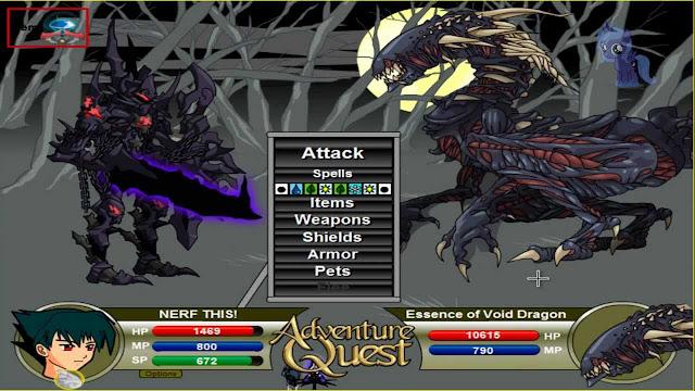dependiendo el tipo de entrenamiento y armadura, obtendras diversas habilidades en Adventure Quest