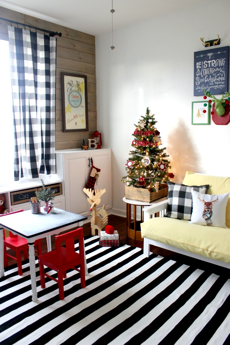playroom christmas ideas
