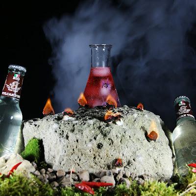 cocktail vulcan tonic