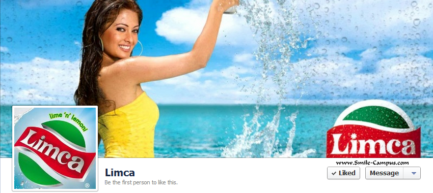 Facebook page of Limca