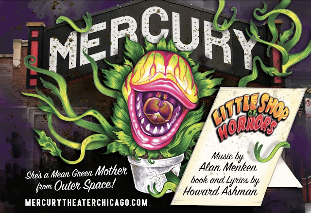 16b0f65e3d1954 LITTLE SHOP OF HORRORS has long been one of my favorite musicals and I  can't wait to see Mercury Theater's unique take on this classic.