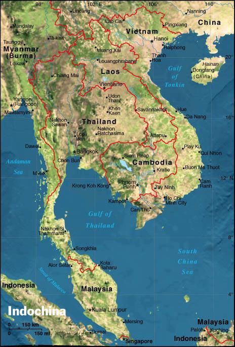Cartina Fisica Dellindonesia.Ripasso Facile Penisola Indocinese Cenni Fisici