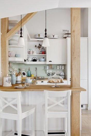 Warna ruang dapur berperan penting