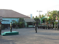 Kasdim 0713/Brebes Bacakan Amanat Danrem 071/Wk Kolonel Kav Dani Wardana, S.Sos.,M.M.