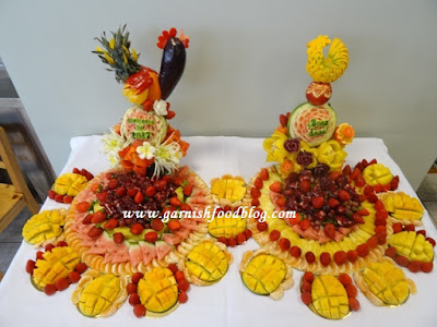 chenese new year fruit arrangements
