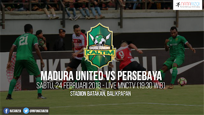 Live Streaming Madura United vs Persebaya Surabaya