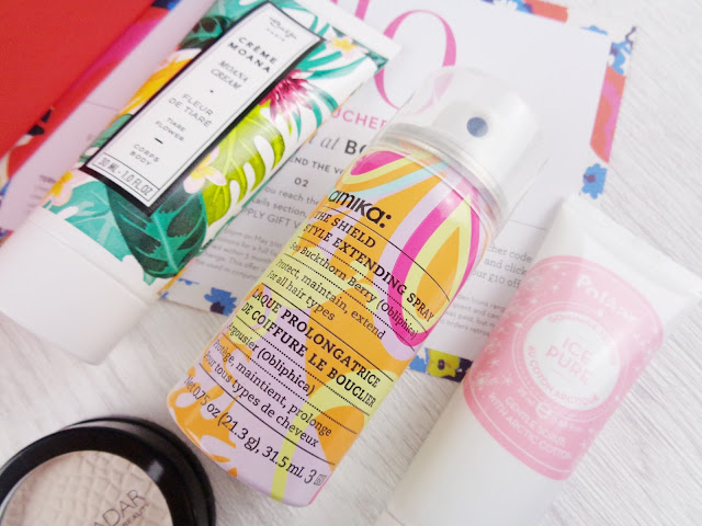 Birchbox x Boden April 2017 - The Bold and the Beautiful