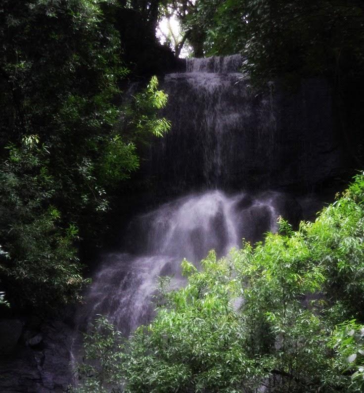 Alto da Queda da Cascata Véu de Noiva, em Gramado