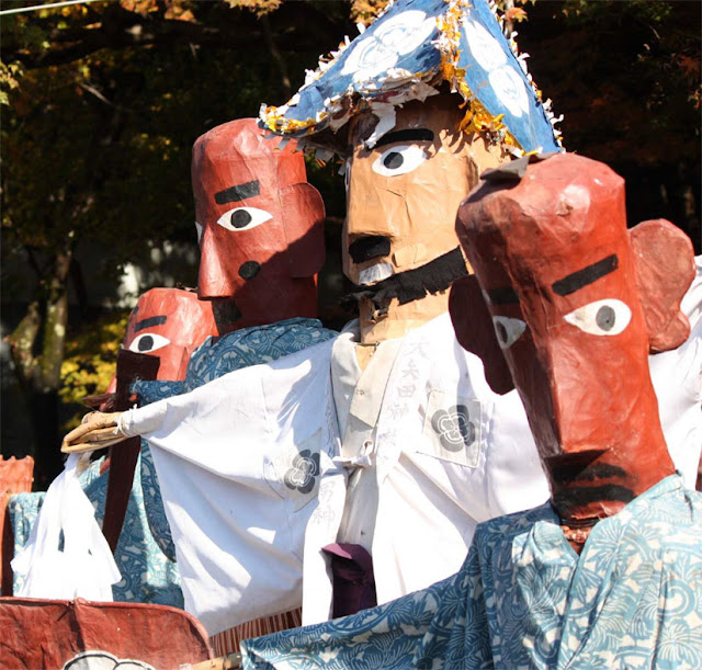 Hinkoko Matsuri (puppet play) at Oyatajinja Shrine, Mino City, Gifu Pref.