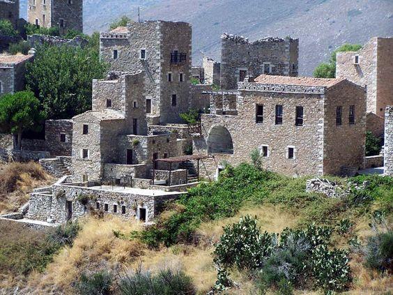 Vatheia Mani Peloponnese Greece