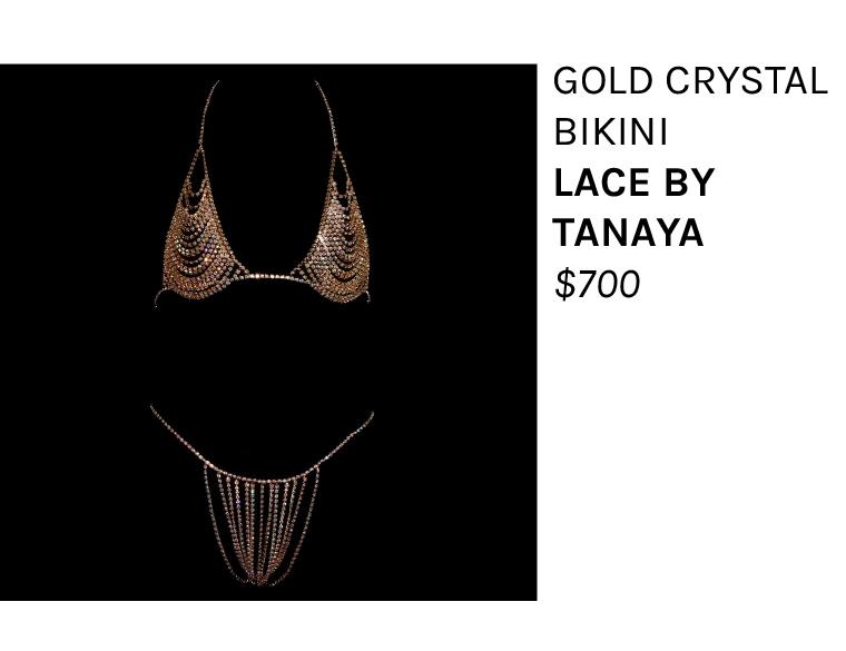 Lace by Tanaya Crystal Bikini