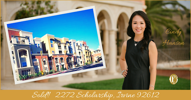 CHGLH sold 2271 Scholarship Irvine 92612