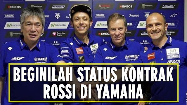 Valentino Rossi Perpanjang Kontrak Baru Hingga 2019