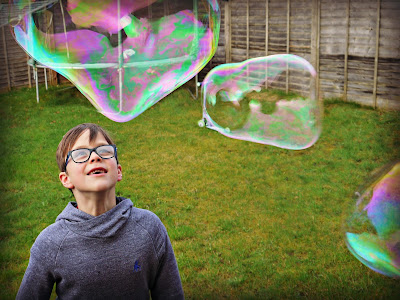 Supersized Bubble Fun with Gazillion Giant Power Wand
