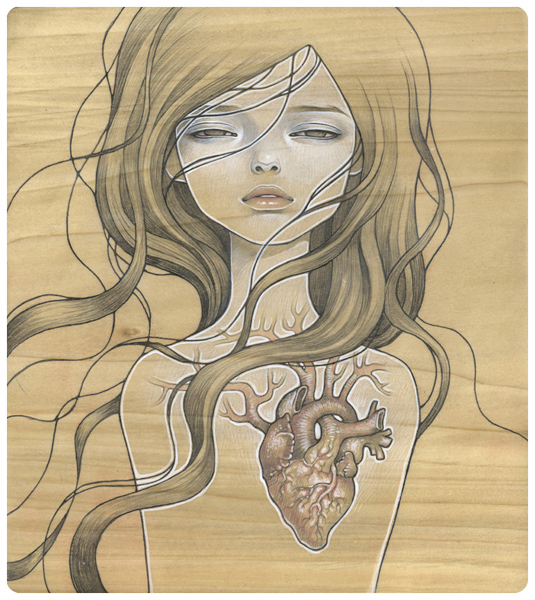 Doctor Ojiplático. Audrey Kawasaki. Ilustración | Illustration. My Dishonest Heart