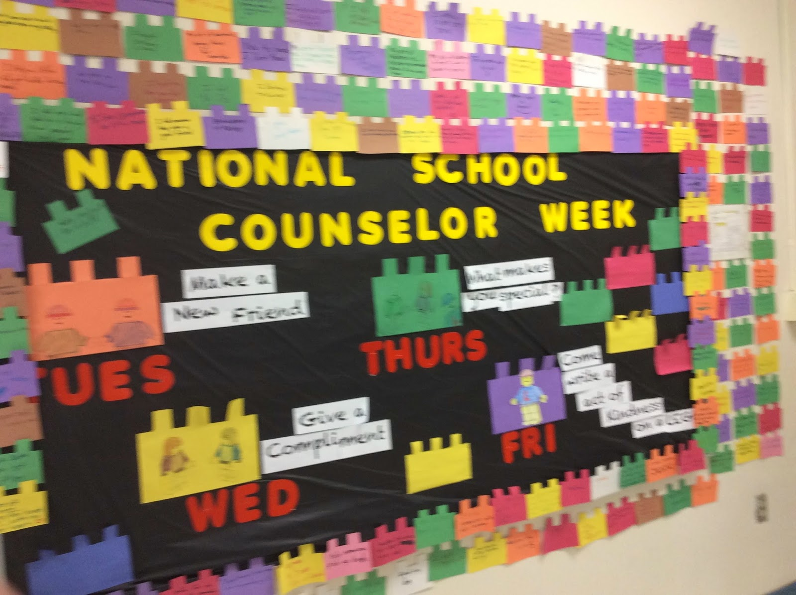 the middle school counselor friday s message national school counseling week