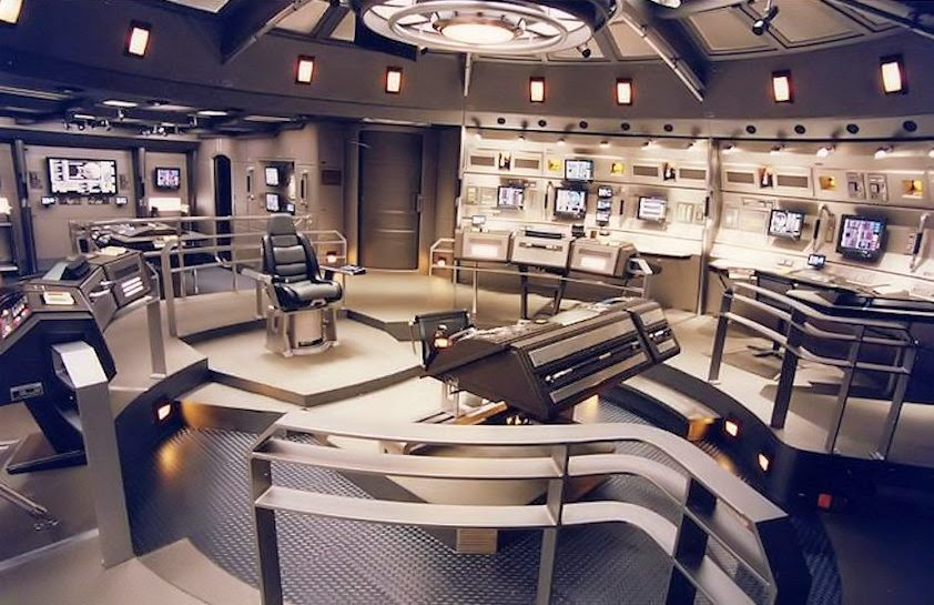 Star Trek Enterprise Set Photos The Bridge