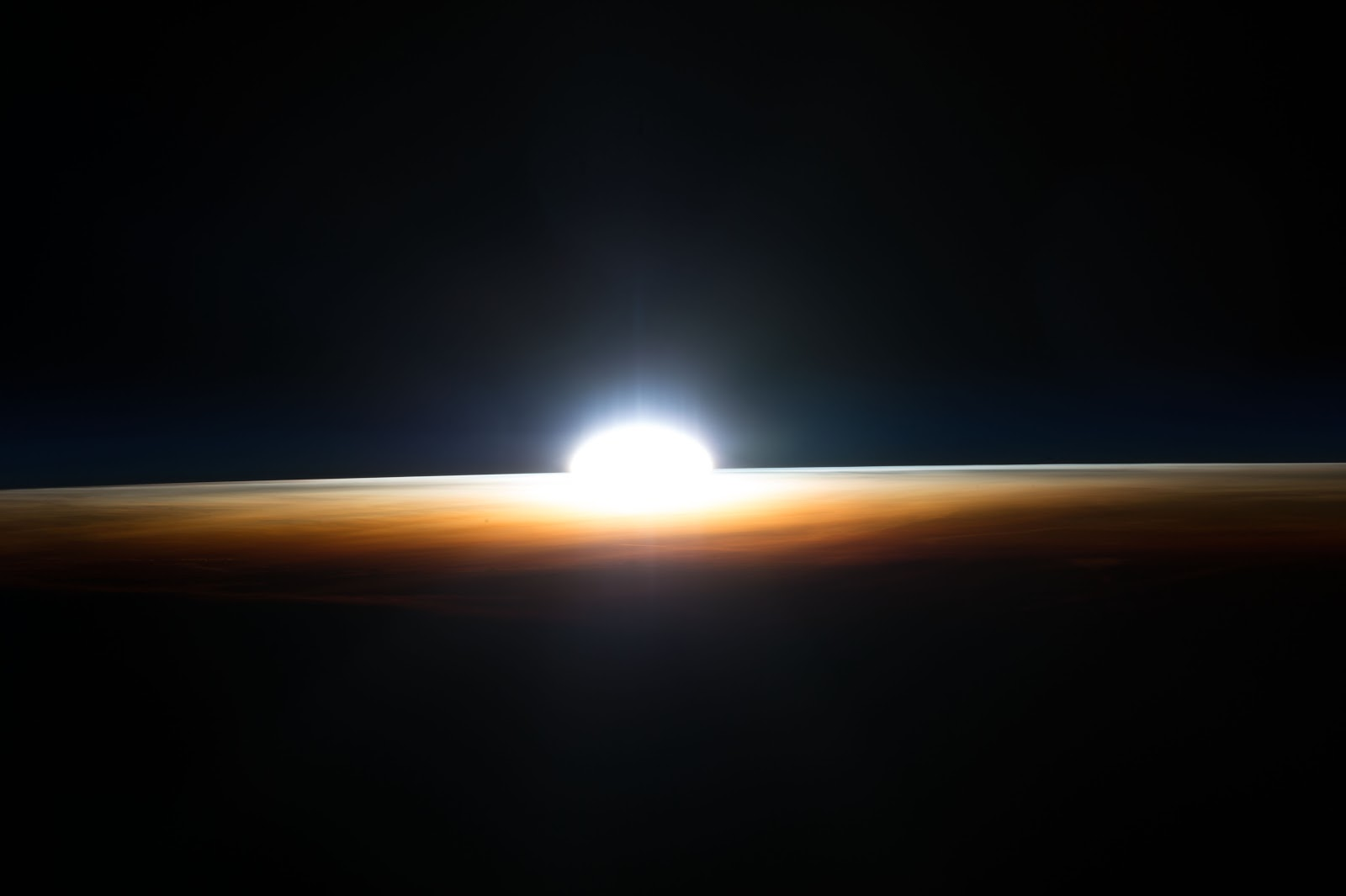 Sunrise Seen From The International Space Station Earth Blog
