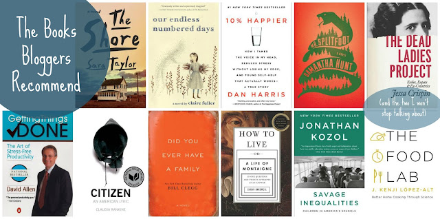 11 books blogger recommend, and two i won't stop talking about