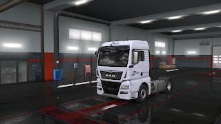 ets 2 european logistics companies paint jobs pack v1.1 screenshots 6, dfds