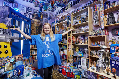 World's Biggest Doctor Who Fan - photo from dailystar.co.uk