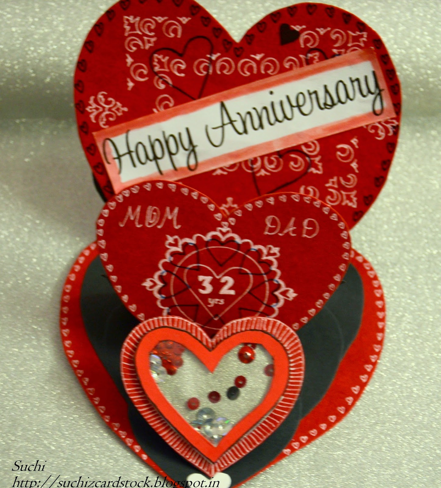 http://suchizcardstock.blogspot.in/2015/02/triple-easel-shaker-anniversary-card.html