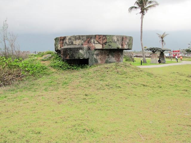 wwii bunker qixingtan beach hualien taiwan