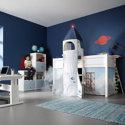 Discovery Space Rocket Bed