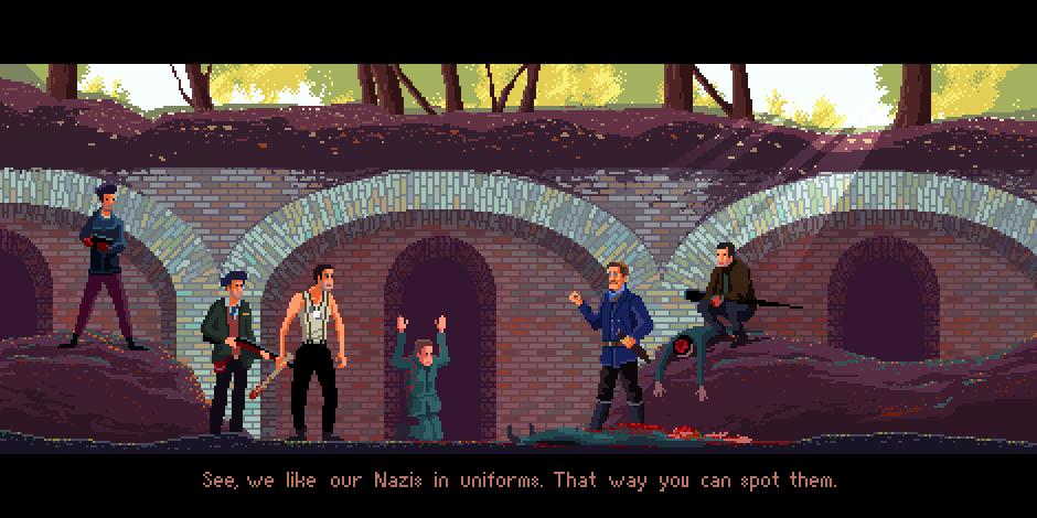 Malditos Bastardos - Pixel Art