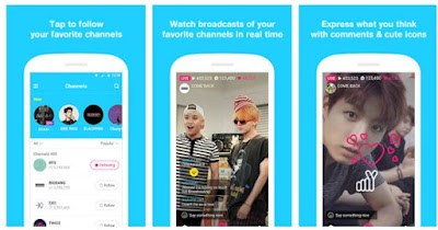 "Aplikasi V Terbaru ""Penghubung Artis KPOP Korea dengan Penggemar"""