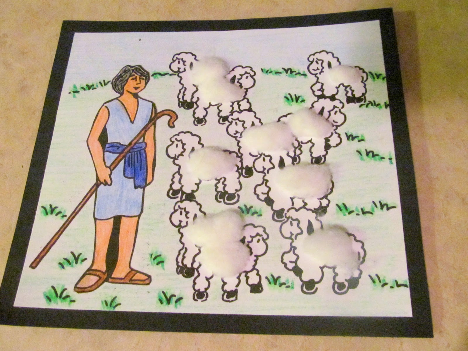 Homemade Happiness Homegrown Treasures And Homeschooling Lesson 14 David The Shepherd Boy