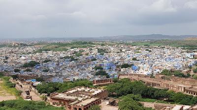 Jodhpur la finta città blu (India)