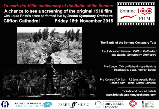The Battle of the Somme Concert with Bristol Symphony Orchestra