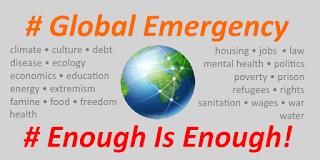 Global Emergency: Enough is Enough!