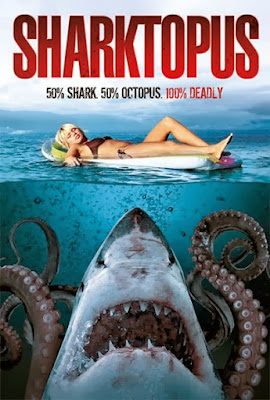 Poster Of Sharktopus (2010) In Hindi English Dual Audio 300MB Compressed Small Size Pc Movie Free Download Only At worldfree4u.com