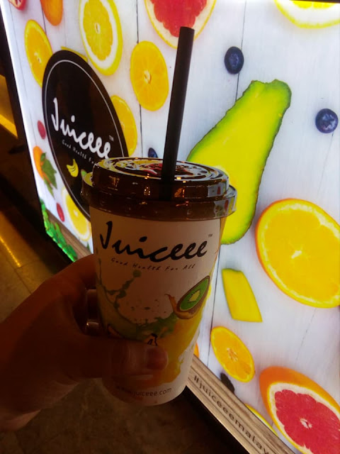 Juiceee Malaysia di The Gardens Mall