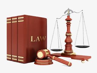 تقسيمات القانون