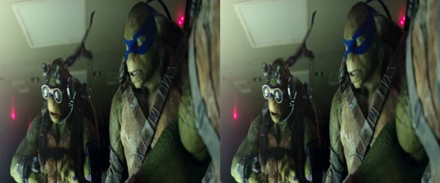 Teenage Mutant Ninja Turtles: Out of the Shadows (2016) 3D SBS Latino