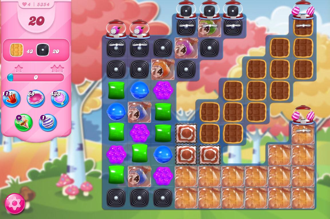 Candy Crush Saga level 5354