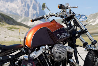 trouble head sportster ironhead by officine rossopuro