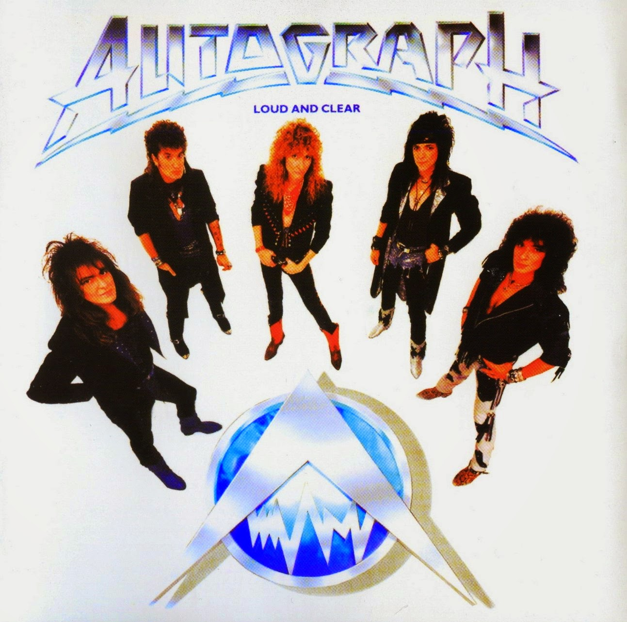 Autograph Loud and clear 1987 aor melodic rock music blogspot full albums bands