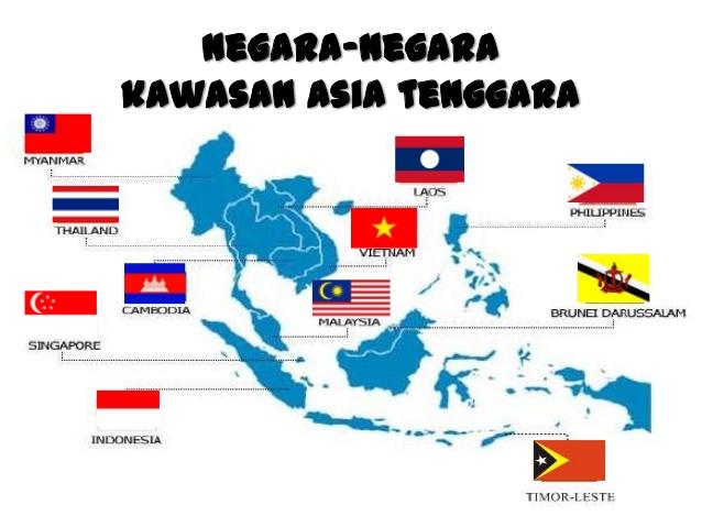 Asia Tenggara (Materi IPS Lengkap)
