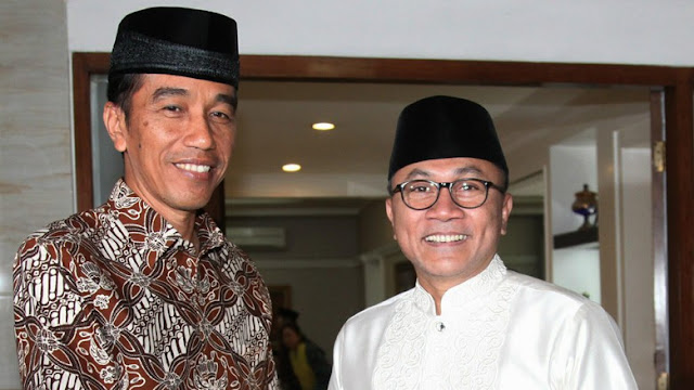 Sstt...Zulkifli Hasan Diam-diam Temui Jokowi di Istana, Bahas Apa?