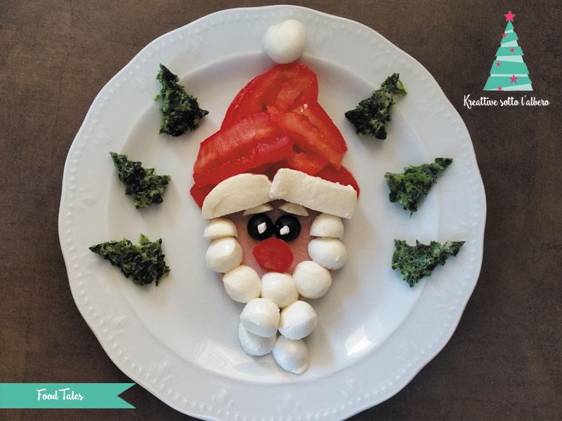 Antipasti A Forma Di Babbo Natale.Antipasto Creativo Natalizio Babbo Natale Kreattivablog