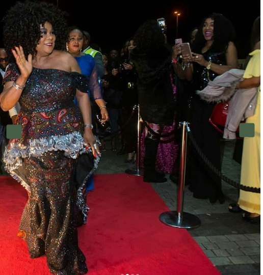 Sola Sobowale Gets Surprise Birthday At London Premiere Of