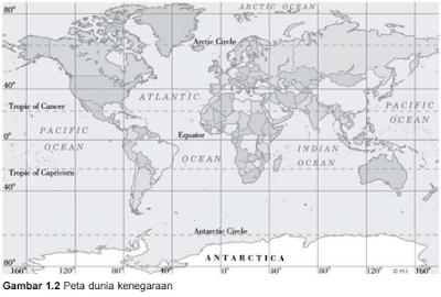 Peta dunia kenegaraan