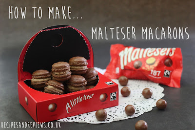 How to make Malteser Macarons Pinterest
