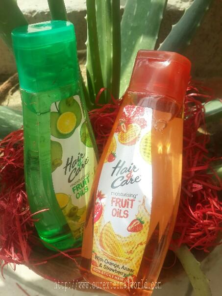 Fruit oils, hair oil